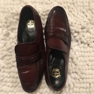 Florsheim Black Cherry Penny Loafers